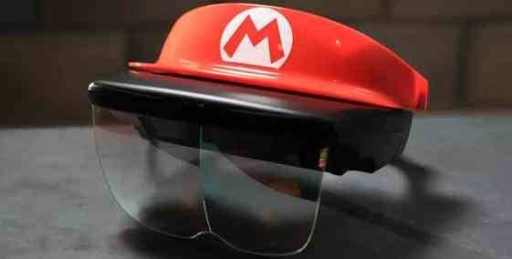 Mario Bros Augmented reality lenses