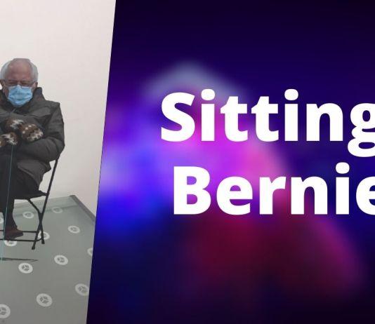 sitting bernie realidad aumentada