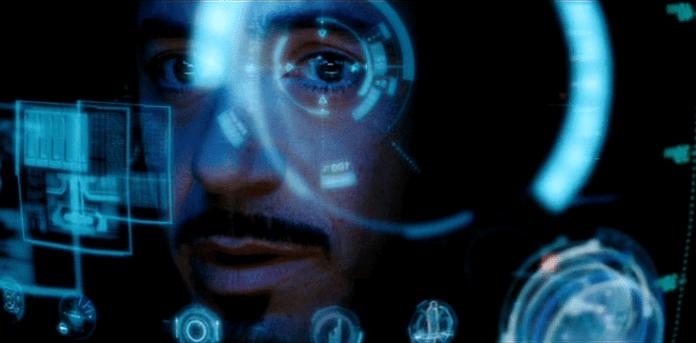 iron man headset realidad aumentada augmented reality