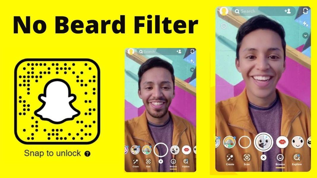 no beard snapchat filter lenses