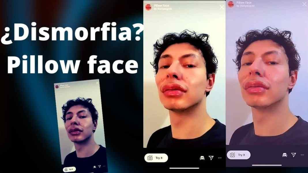 pillow face instagram filter