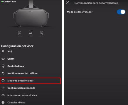 Oculus Passthrough Experimental API