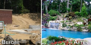 Gardens Old Westbury - Before and After Transformation