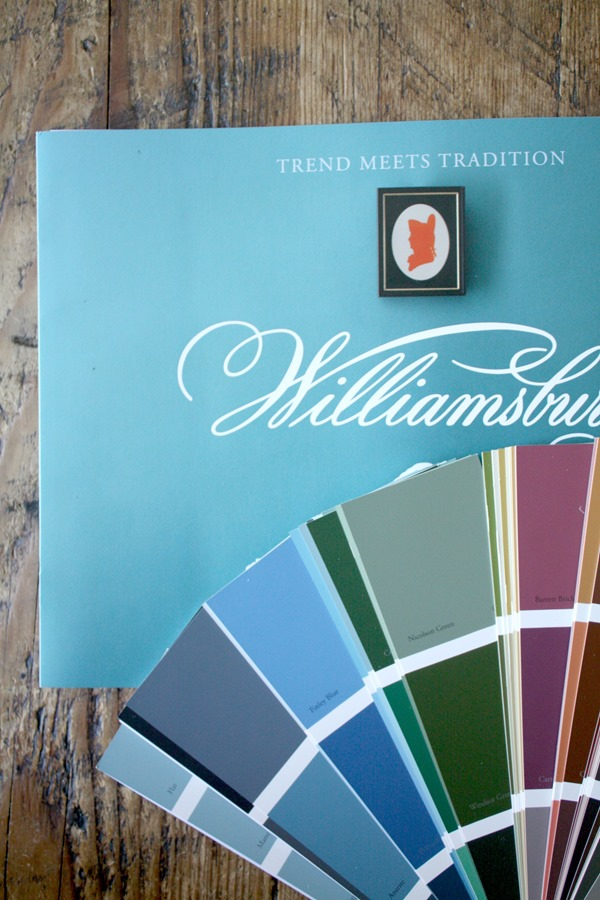 Benjamin Moore Williamsburg collection