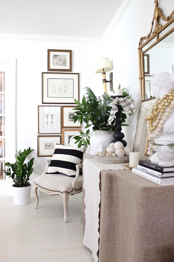 Easy Decorating Ideas Archives   Emily A  Clark gallery wall spacing