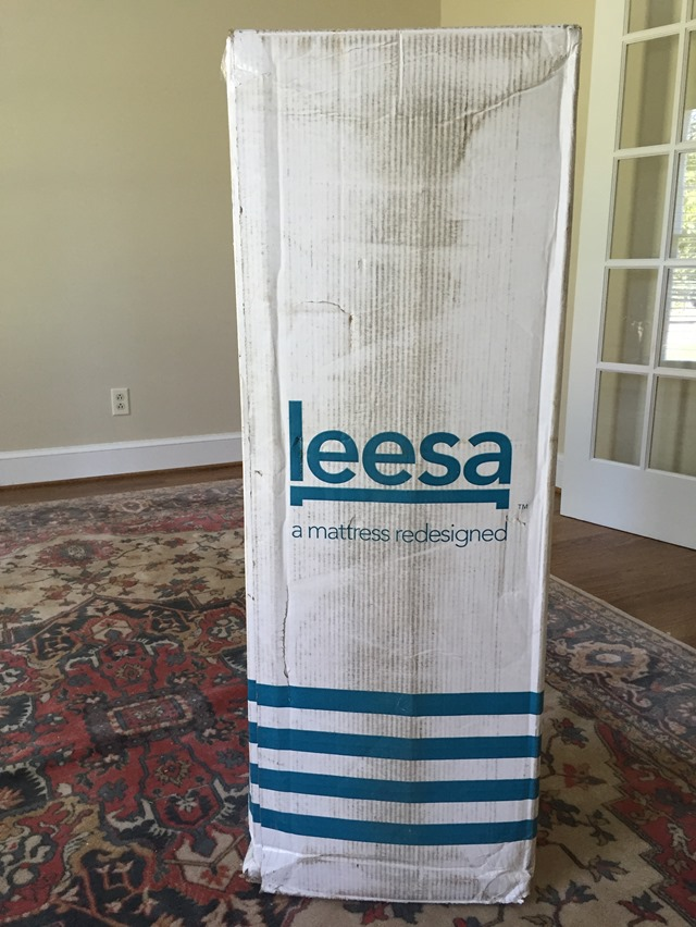 Leesa Mattress In A Box Delivery