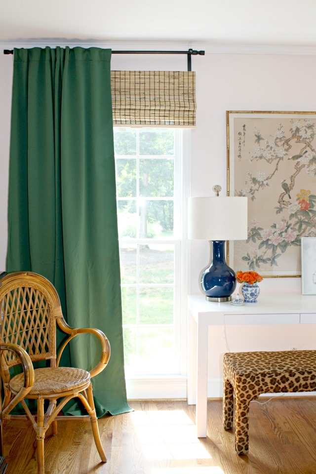 Green IKEA Curtains For Our Bedroom Emily A Clark