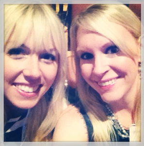 Erin Rawlings (@mommyonthespot) and I enjoying some bonding time before the Voices of the Year program
