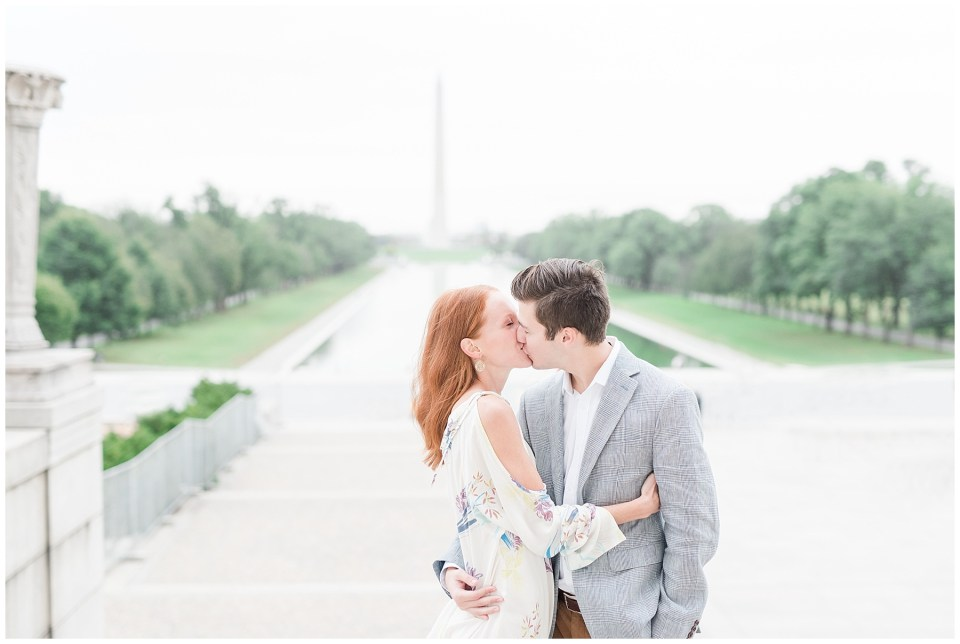 top-dc-engagement-session-location-lincoln-memorial-reflecting-pool-photo