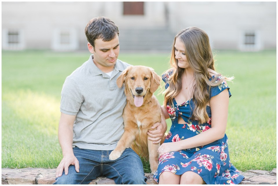 engagement-session-with-dog