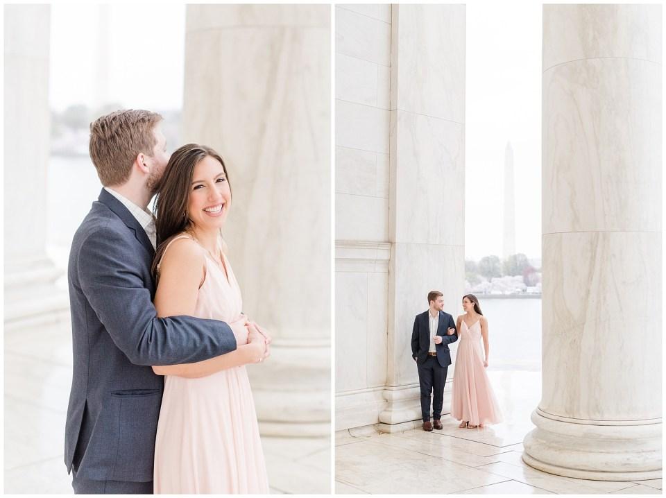 thomas-jefferson-engagement-session-cherry-blossom-photo