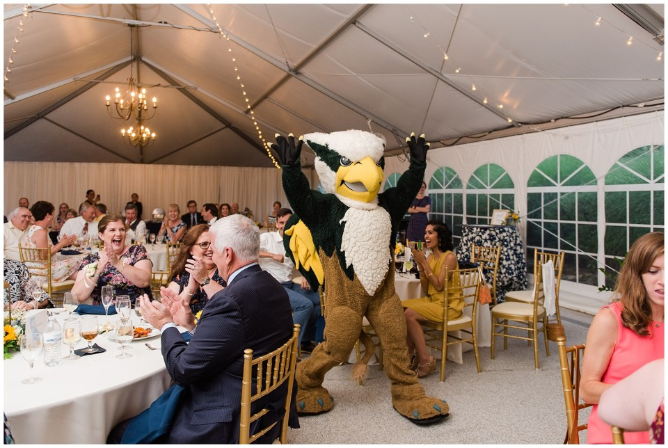 William-mary-griffin-mascot-wedding-guest-photo