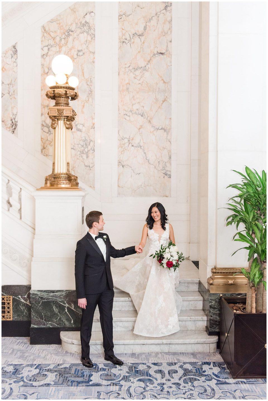 hotel monaco baltimore wedding photos