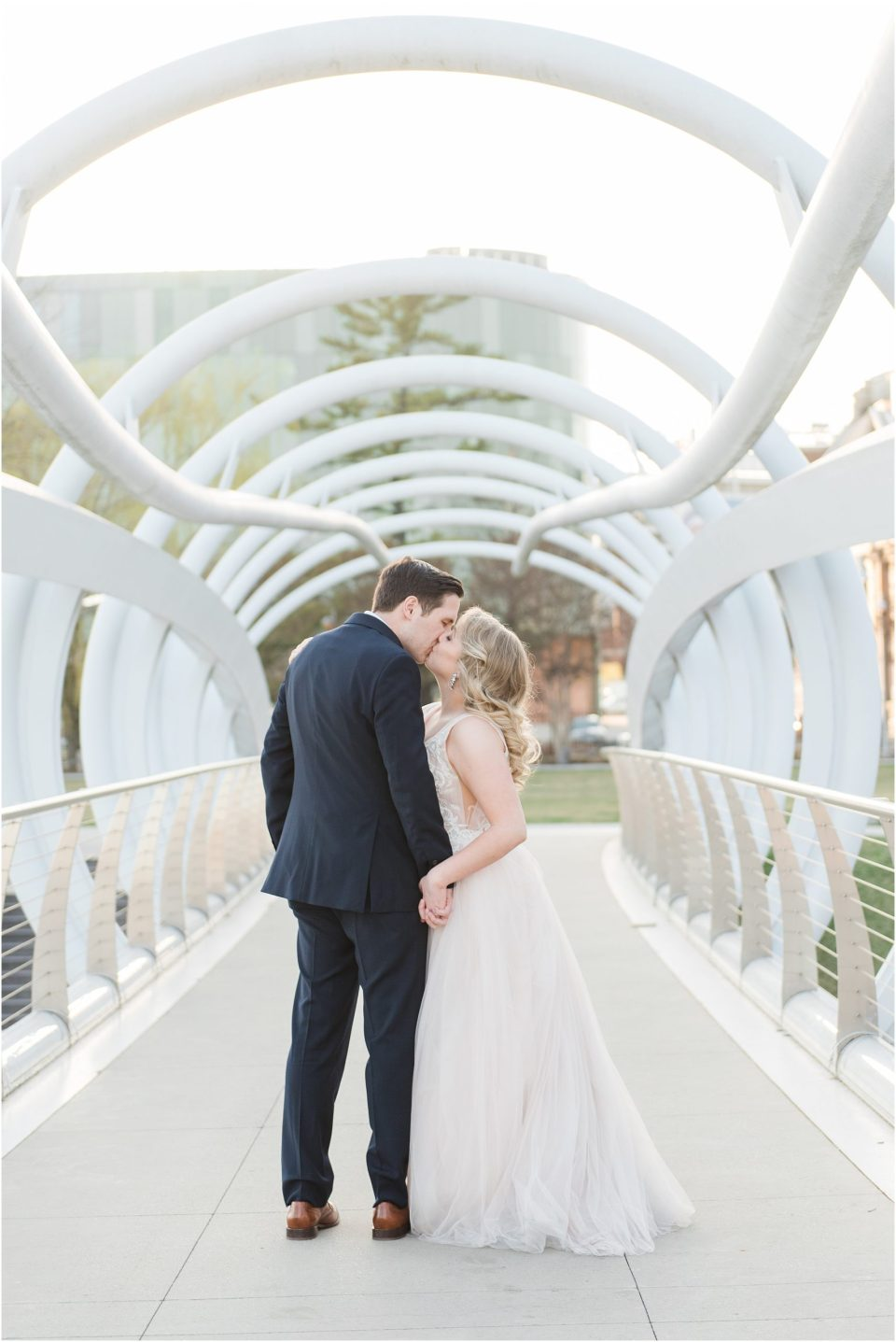 district winery spring wedding photo