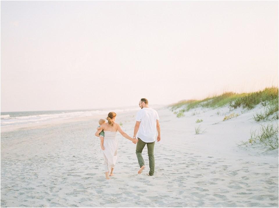south carolina beach family photo