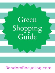 Green Shopping Reference Guide