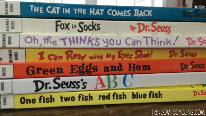 Dr. Suess Books RandomRecycling