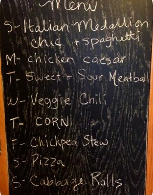 Meal Plan Board Feb 2012