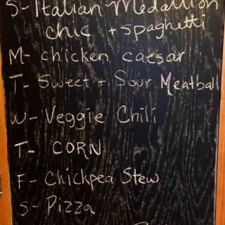 Monday Meal Plan Feb 25th