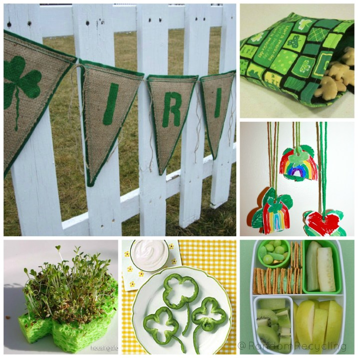 St Paddys Day Eco Friendly Ideas, Crafts and Food