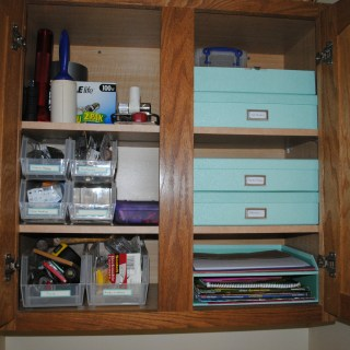 Create a Craft Cabinet for Project Simplify