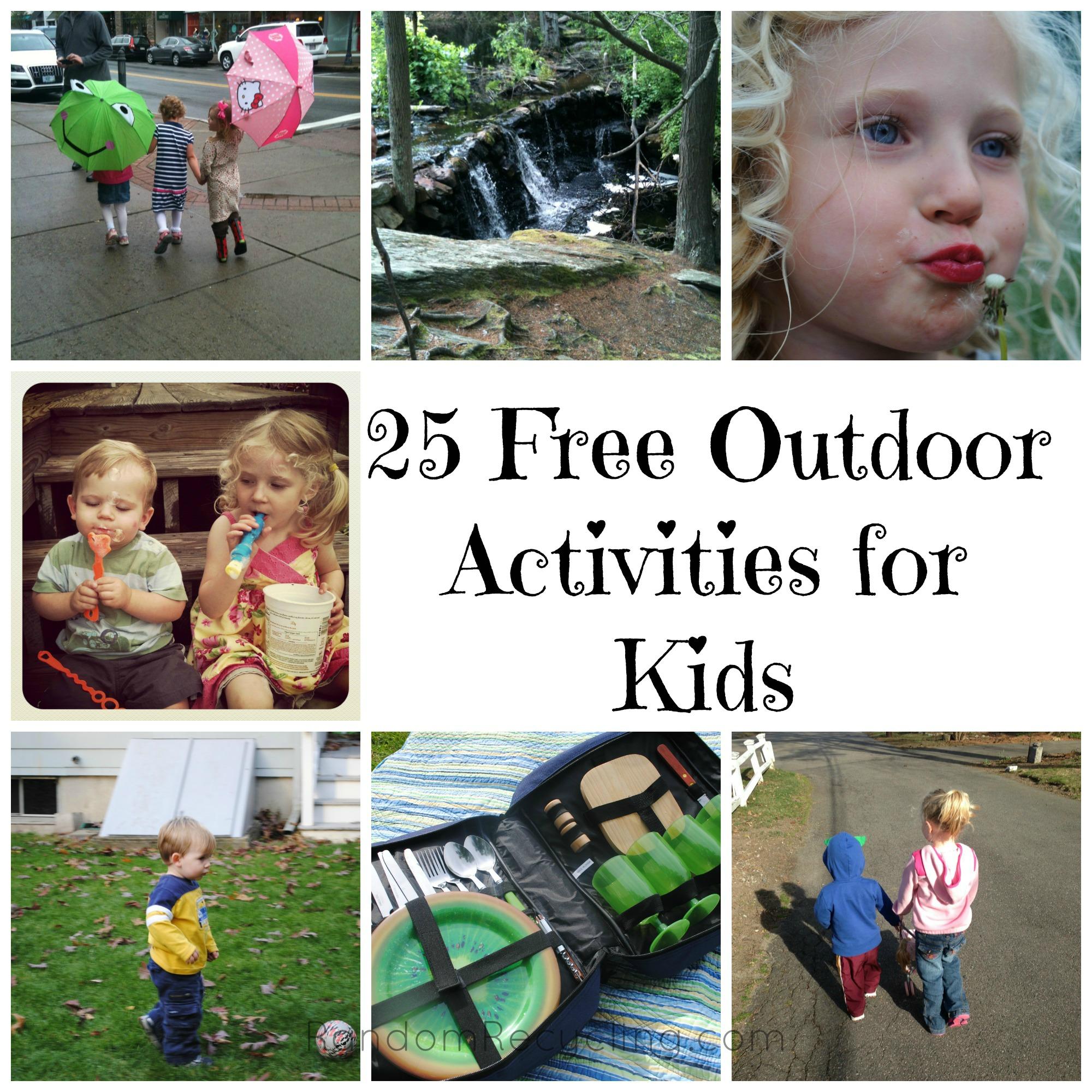 25 Free Outdoor Activities For Kids