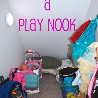 Creating a Play Closet