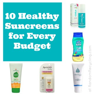10 Safe Sunscreens for Every Budget