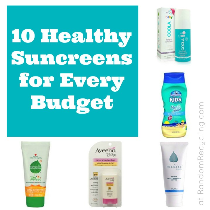 10 Healthy Sunscreens for Every Budget