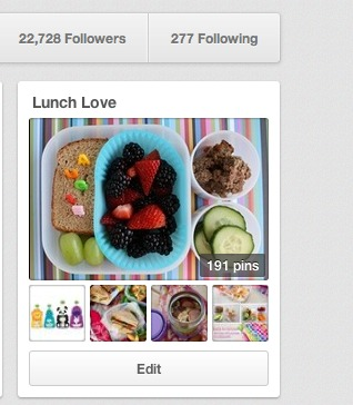 The Story Behind the Lunch Love Pinterest Board (giveaway)