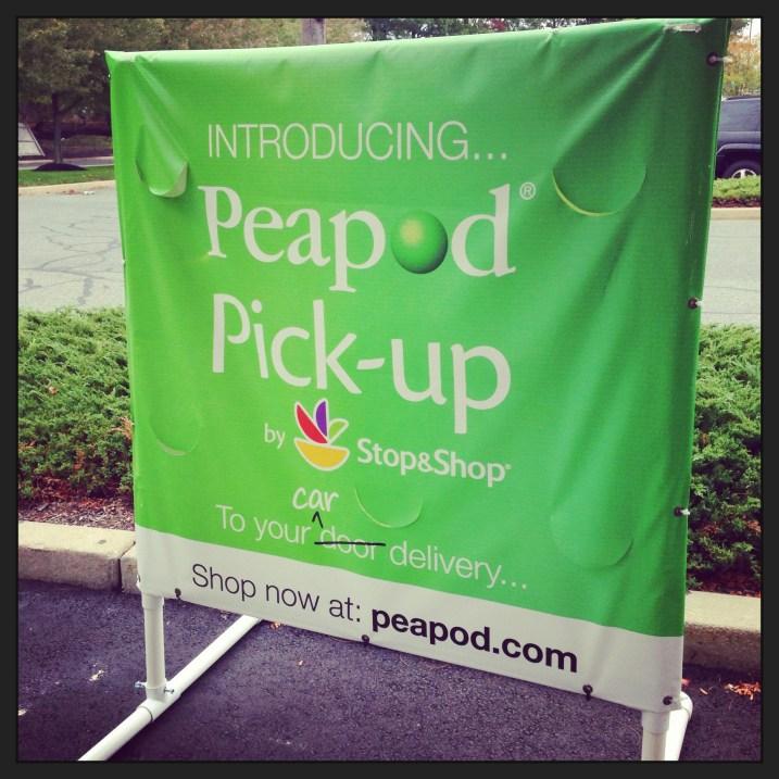 Peapod Pick Up at Stop and Shop