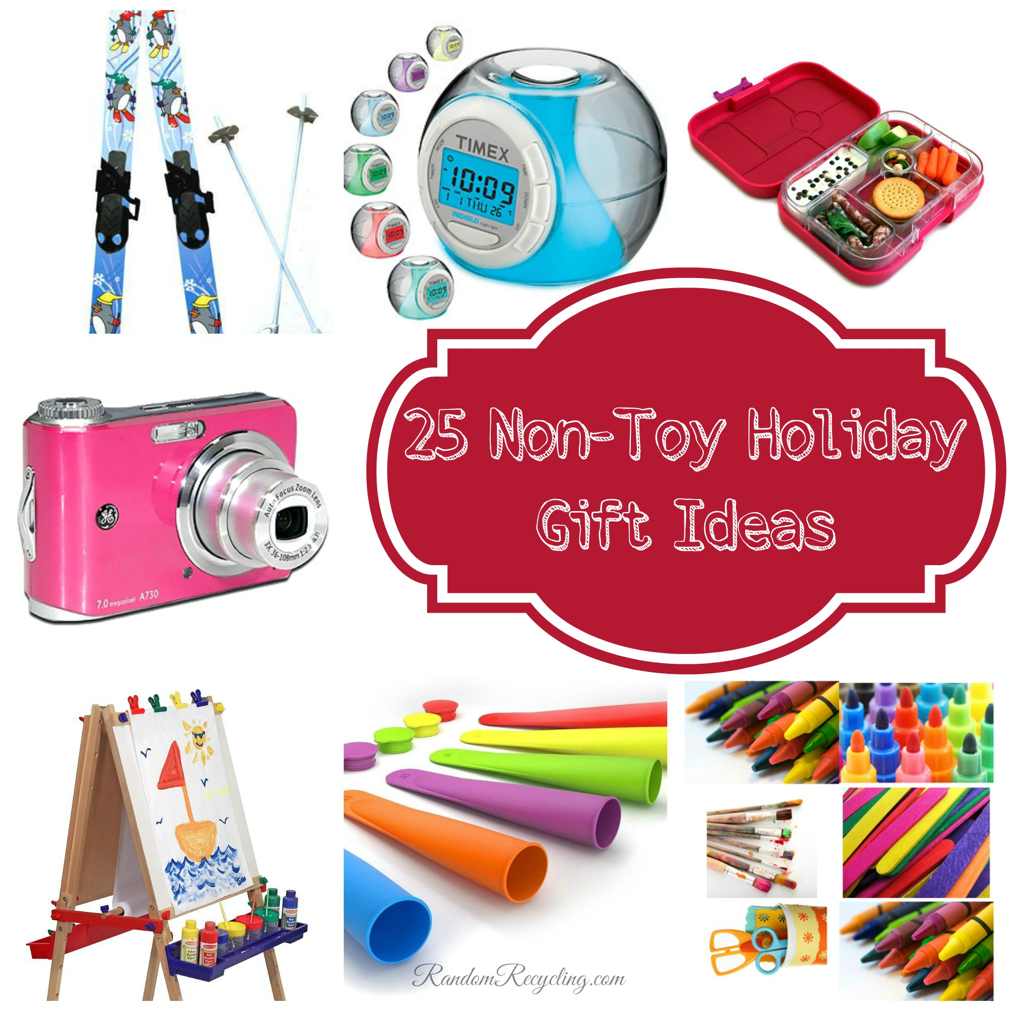 25 Non-Toy Gift Ideas for the Holidays