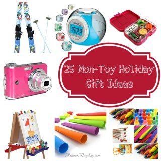 25 Non-Toy Holiday Gift Ideas