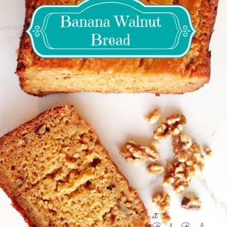 Easy Banana Bread Recipe in the Bread Maker