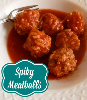 Kids are going to love these spiky meatballs!