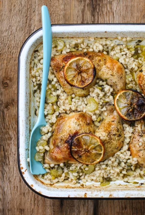 One Pot Greek Chicken