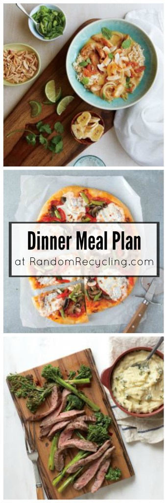 Family dinner meal plans for busy weeknights