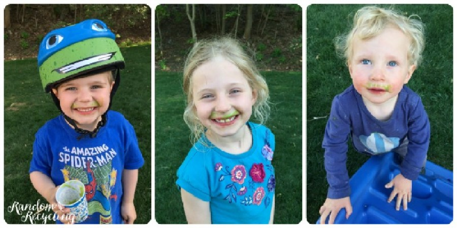 Silly smoothie faces
