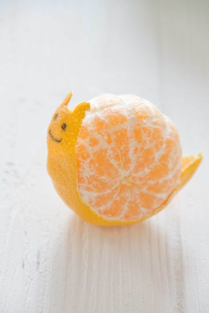 Cute lunchbox orange