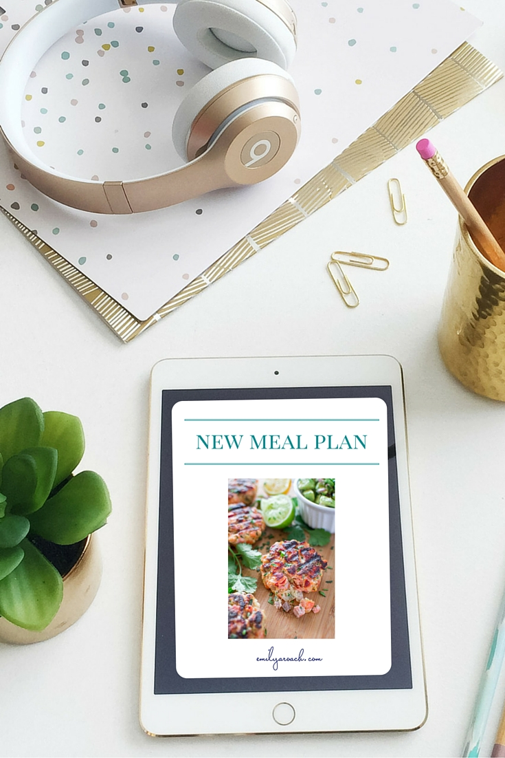 Sometimes your meal planning strategy needs a refresh. Here's some tips on the different tools you can use to create your meal plan at home. Plus a full week's meal plan ready to save you time this week!