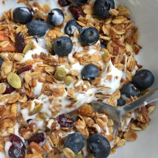 Easy Healthy Homemade Granola Recipe (Bake this granola and you will have friends for life!)