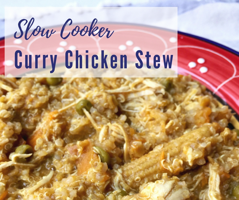 Slow Cooker Curry Chicken Stew