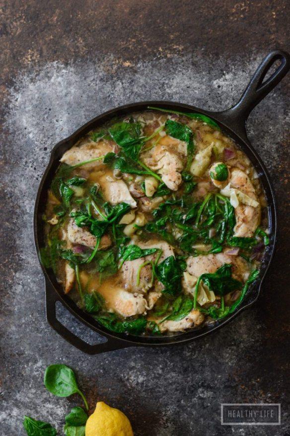 allergy season meal plan paleo chicken lemon stew recipe