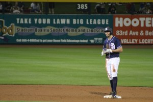 Non-roster invitee Adam Rosales had a great night.