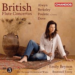 Emily Beynon - British Flute Concertos