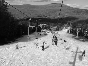 Ski lifts are the main source of transportation to get to the many trails open on the mountain.