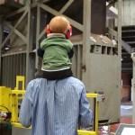 Watching the cotton baler
