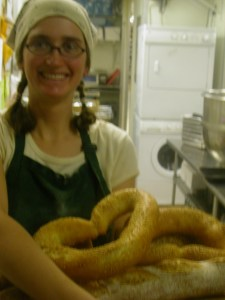 Back in my halcyon bakery days.