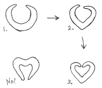 HeartBaguetteSketch