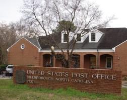 the Hillsborough post office
